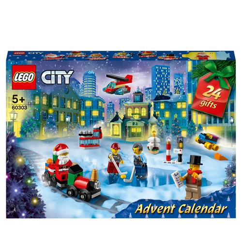LEGO CITY CALENDARIO DELL'AVVENTO 60303