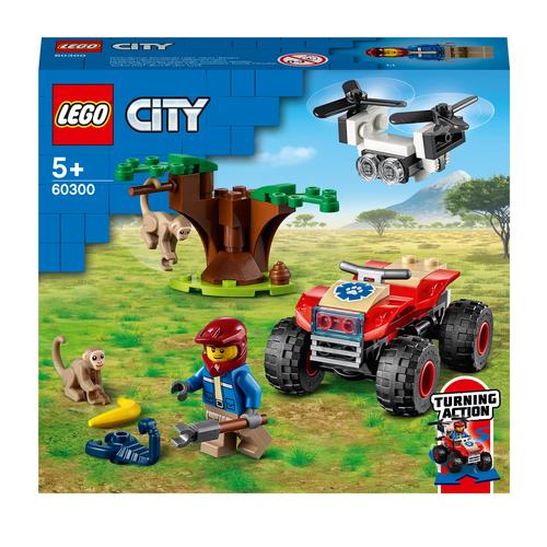 LEGO CITY ATV DI SOCCORSO ANIMALE 60300
