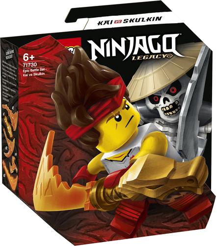 LEGO NINJAGO BATTAGLIA EPICA - KAI VS SKULKIN 71730