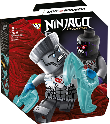 LEGO NINJAGO BATTAGLIA EPICA - ZANE VS NINDROID 71731