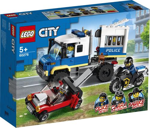 LEGO CITY TRASPORTO DEI PRIGIONIERI DELLA POLIZIA 60276
