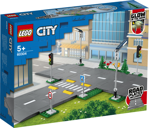 LEGO CITY PIATTAFORME STRADALI 60304
