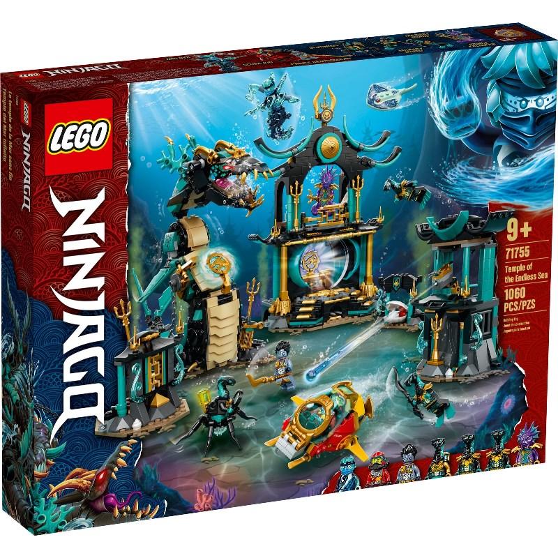 LEGO NINJAGO TEMPIO DEL MARE INFINITO 71755