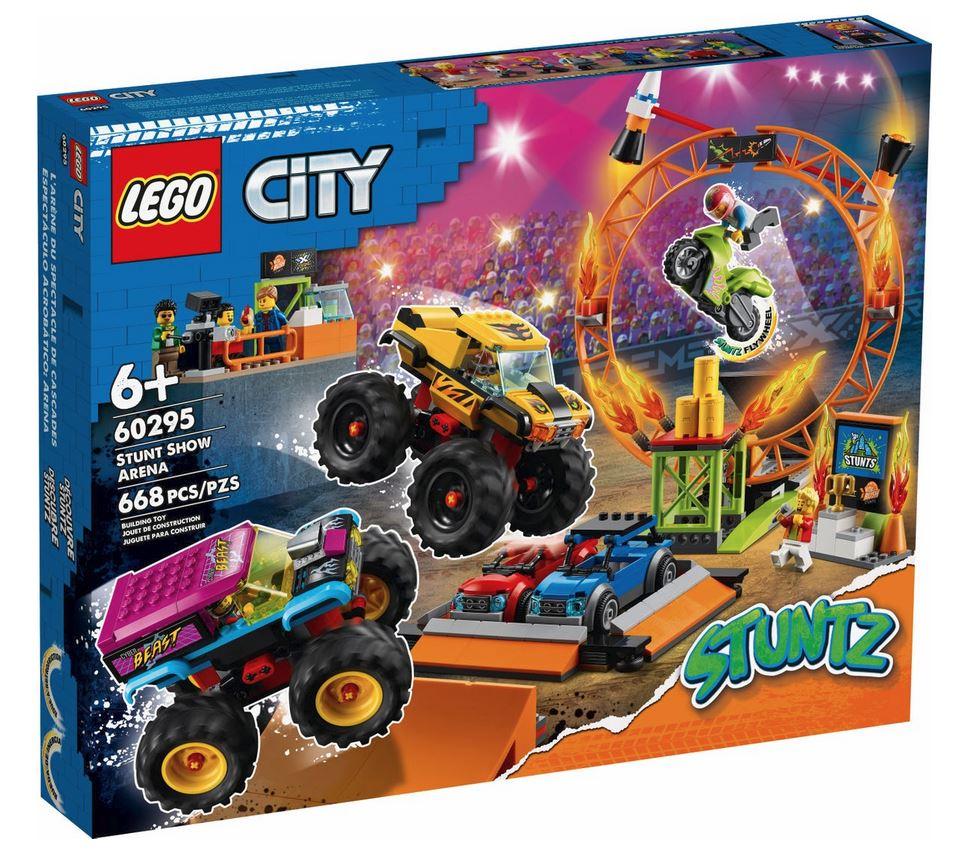 LEGO CITY ARENA DELLO STUNT SHOW 60295