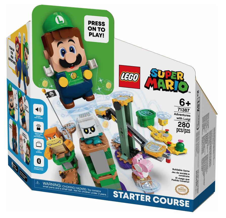 LEGO SUPER MARIO AVVENTURE DI LUIGI - STARTER PACK 71387