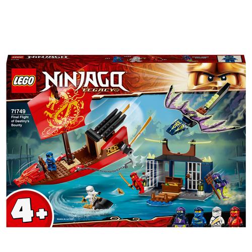 LEGO NINJAGO IL VOLO FINALE DEL VASCELLO DEL DESTINO 71749