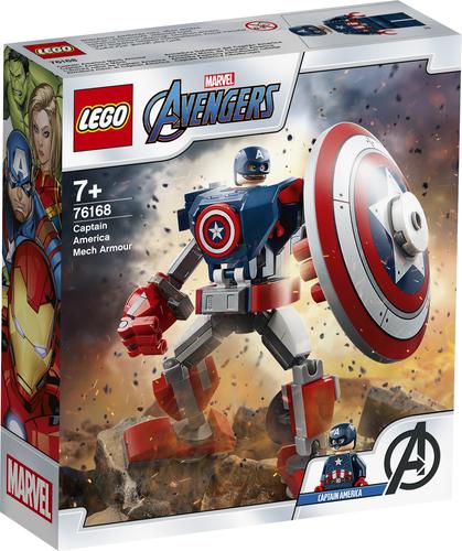LEGO SUPER HEROES ARMATURA MECH DI CAPITAN AMERICA 76168