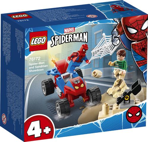 LEGO MARVEL SUPER HEROES LA RESA DEI CONTI TRA SPIDER-MAN E SANDMAN 76172