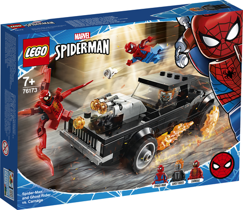LEGO MARVEL SUPER HEROES SPIDER-MAN E GHOST RIDER VS. CARNAGE 76173