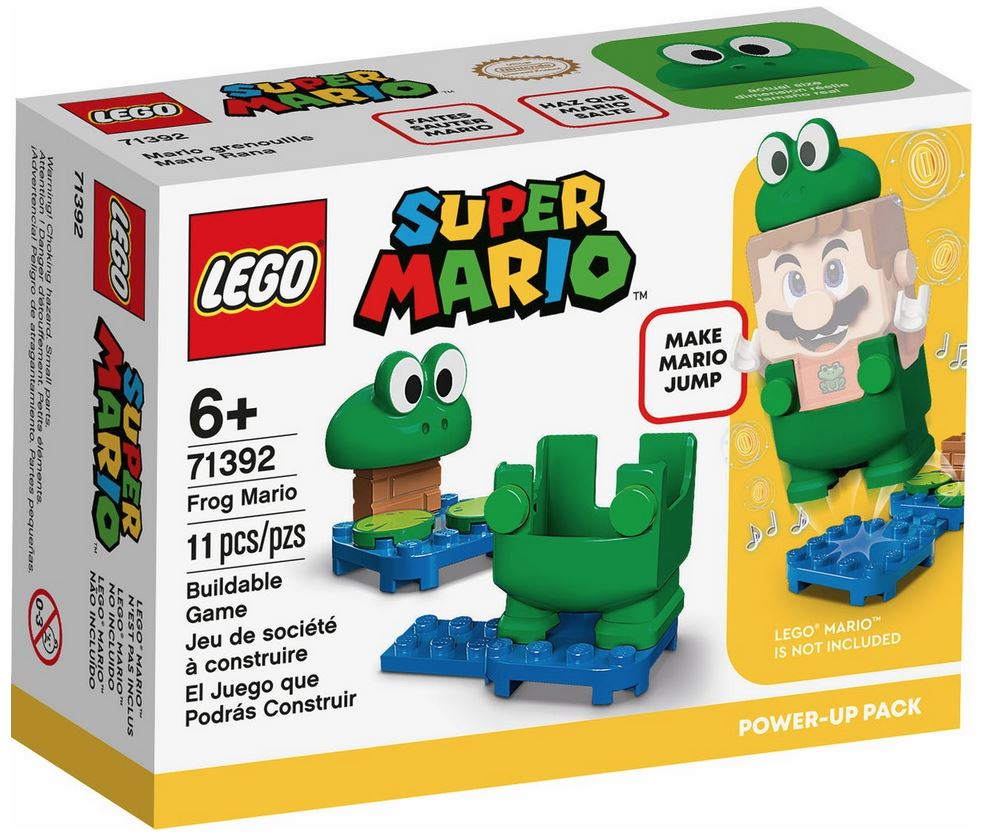 LEGO SUPER MARIO MARIO RANA - POWER UP PACK 71392