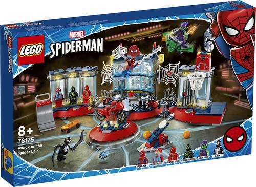 LEGO SUPER HEROES ATTACCO AL COVO DEL RAGNO 76175