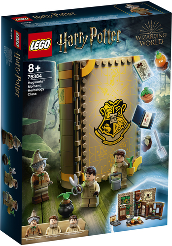 LEGO HARRY POTTER LEZIONE DI ERBOLOGIA A HOGWARTS 76384