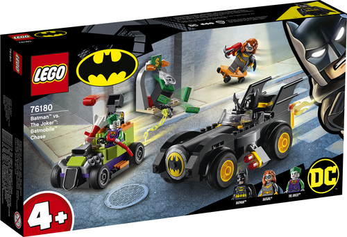 LEGO SUPER HEROES BATMAN VS. JOKER: INSEGUIMENTO CON LA BATMOBILE 76180
