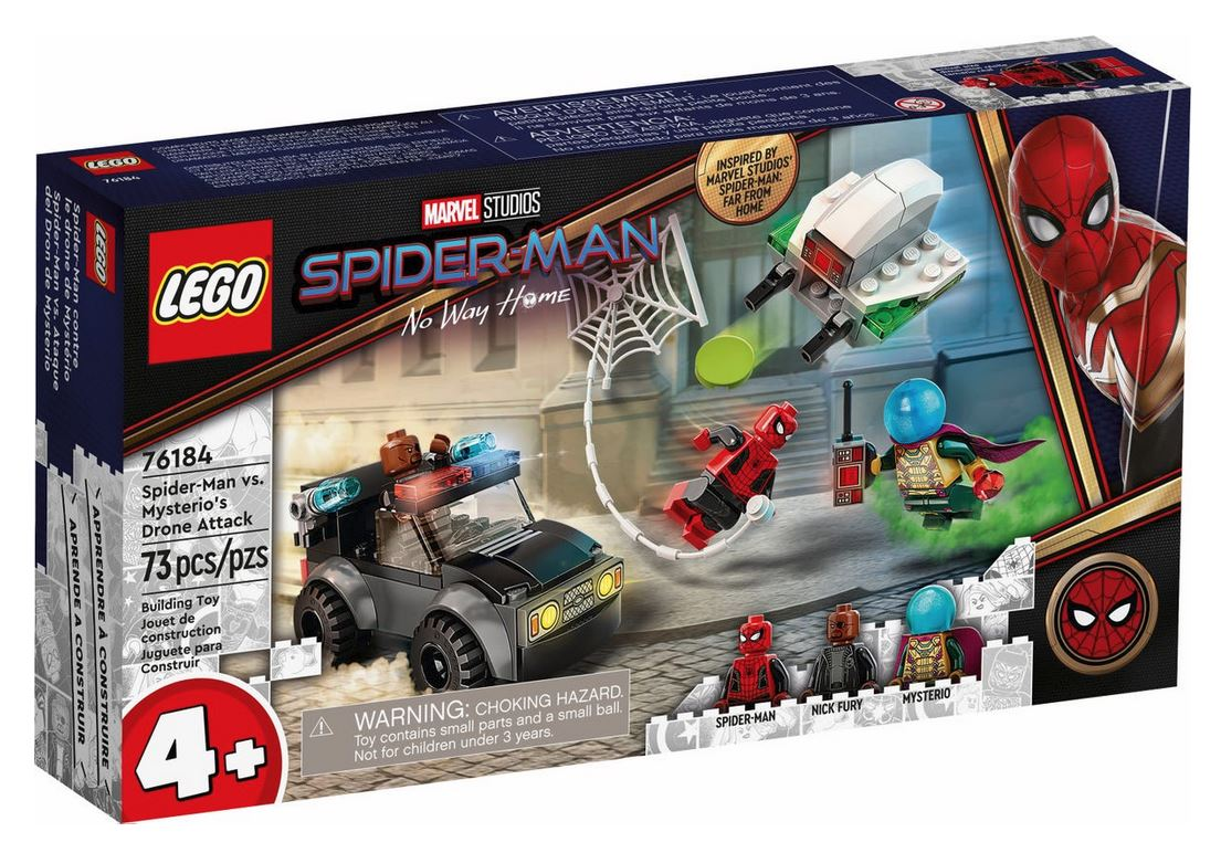 LEGO SUPER HEROES SPIDER-MAN E GHOST RIDER VS. CARNAGE 76184