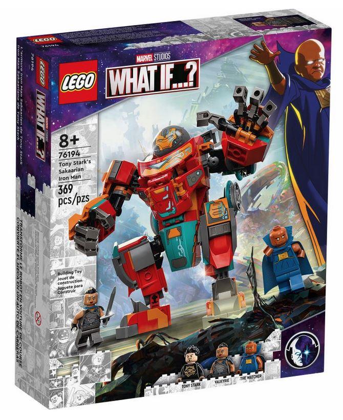 LEGO SUPER HEROES IRON MAN SAKAARIANO DI TONY STARK 76194