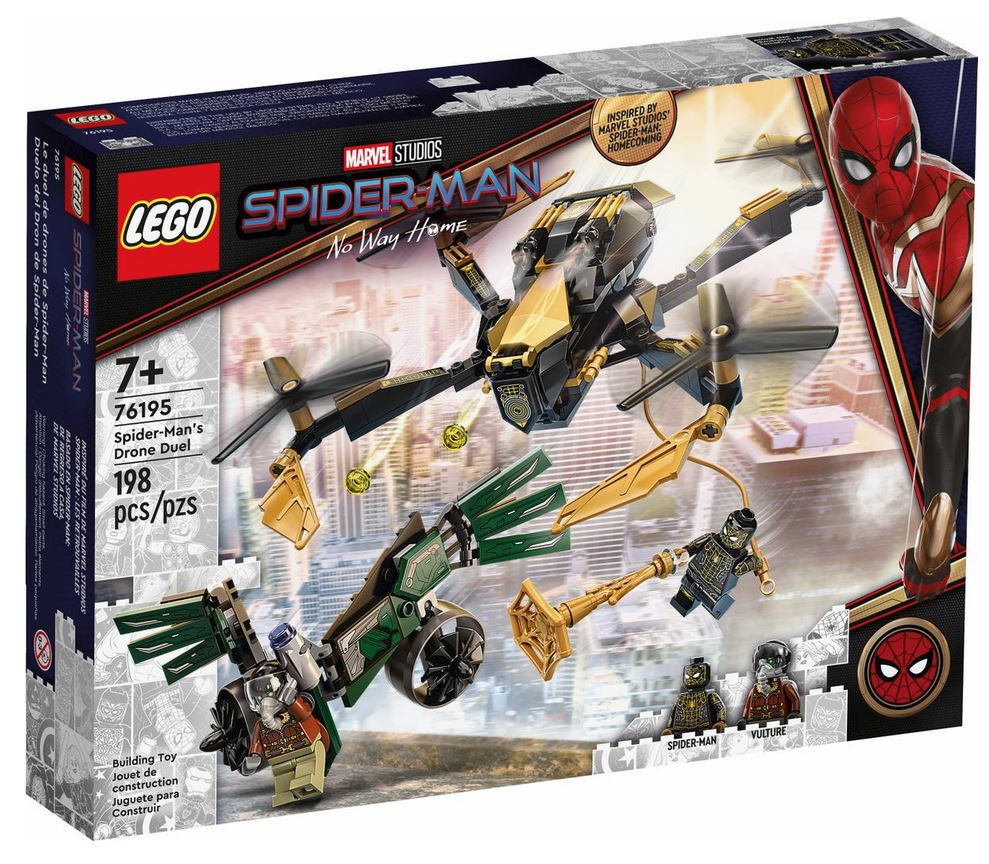LEGO SUPER HEROES ARMATURA MECH DI MILES MORALES 76195