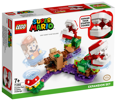 LEGO SUPER MARIO LA SFIDA ROMPICAPO DELLA PIANTA PIRANHA - PACK DI ESPANSIONE 71382