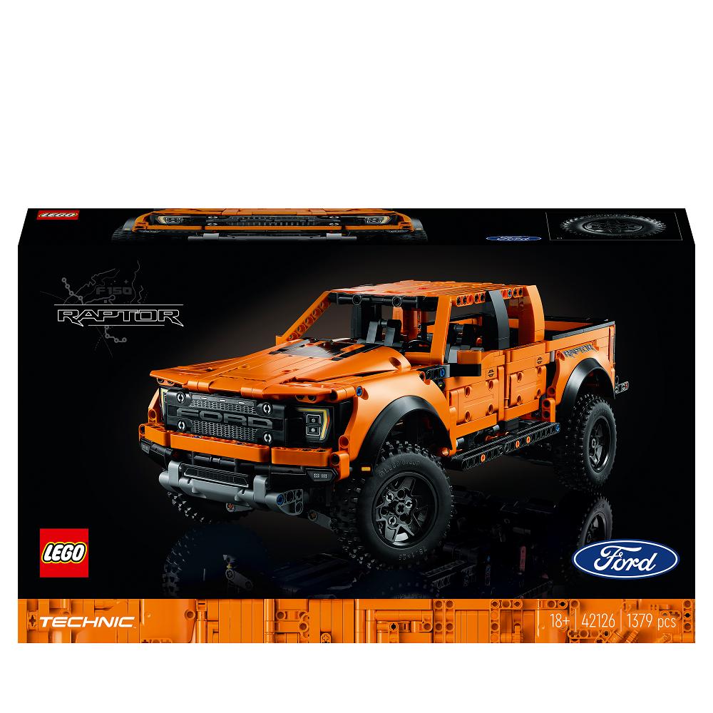 LEGO TECHNIC FORD F-150 RAPTOR FURGONE PICK-UP 42126