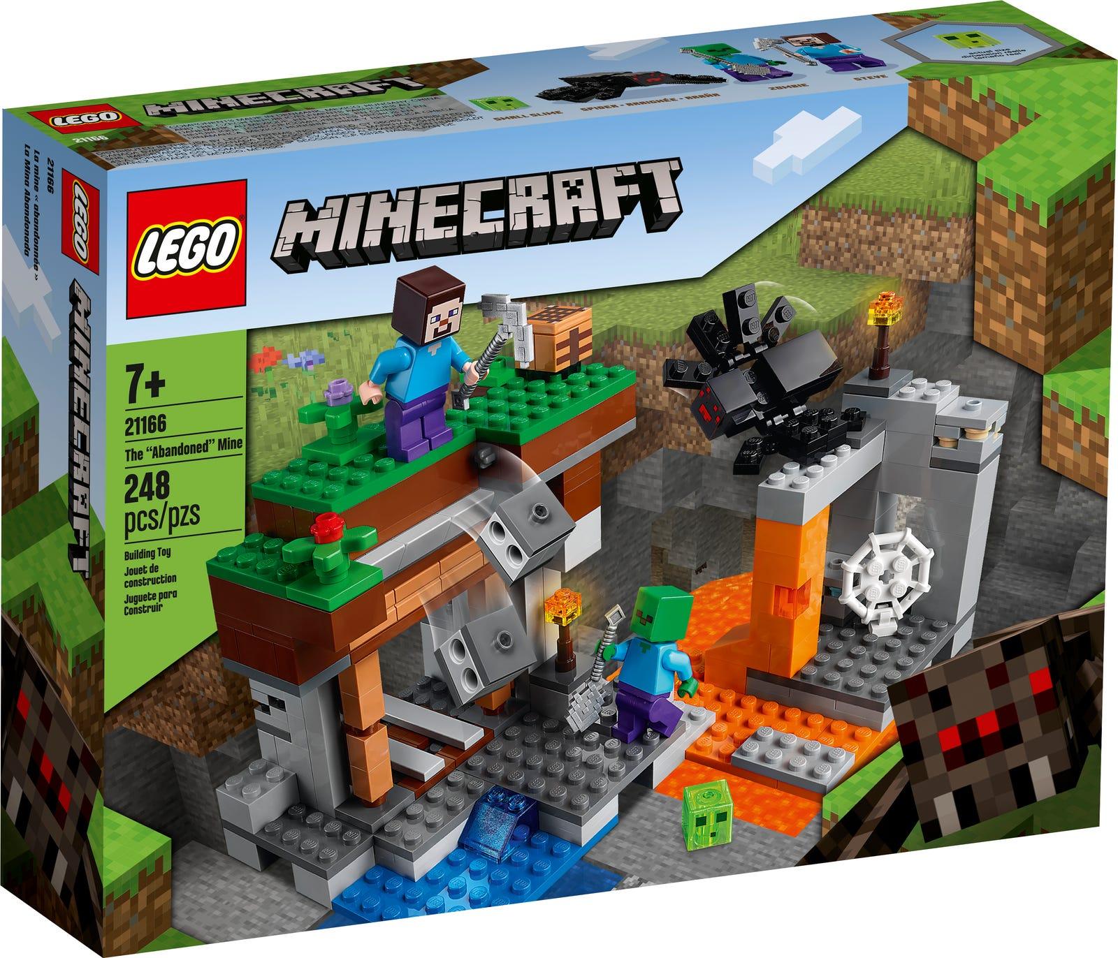 LEGO MINECRAFT LA MINIERA ABBANDONATA 21166