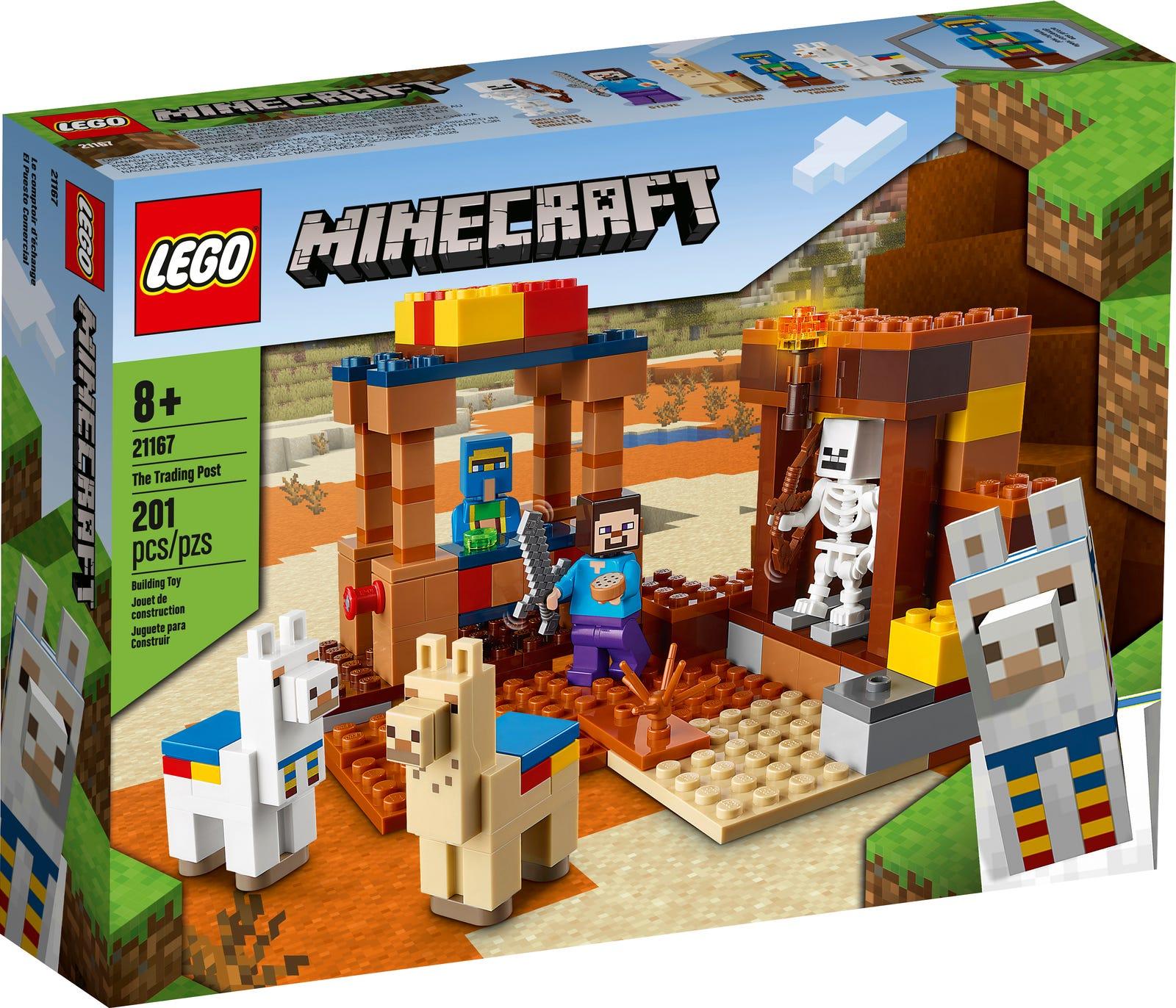 LEGO MINECRAFT IL TRADING POST 21167