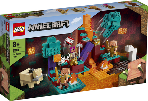 LEGO MINECRAFT LA WARPED FOREST 21168