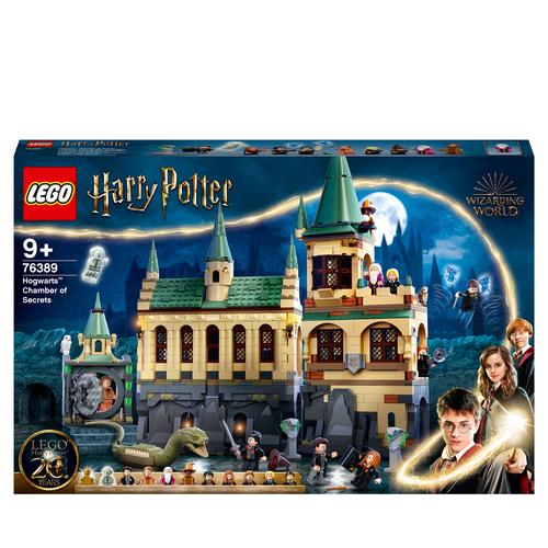 LEGO HARRY POTTER LA CAMERA DEI SEGRETI DI HOGWARTS 76389