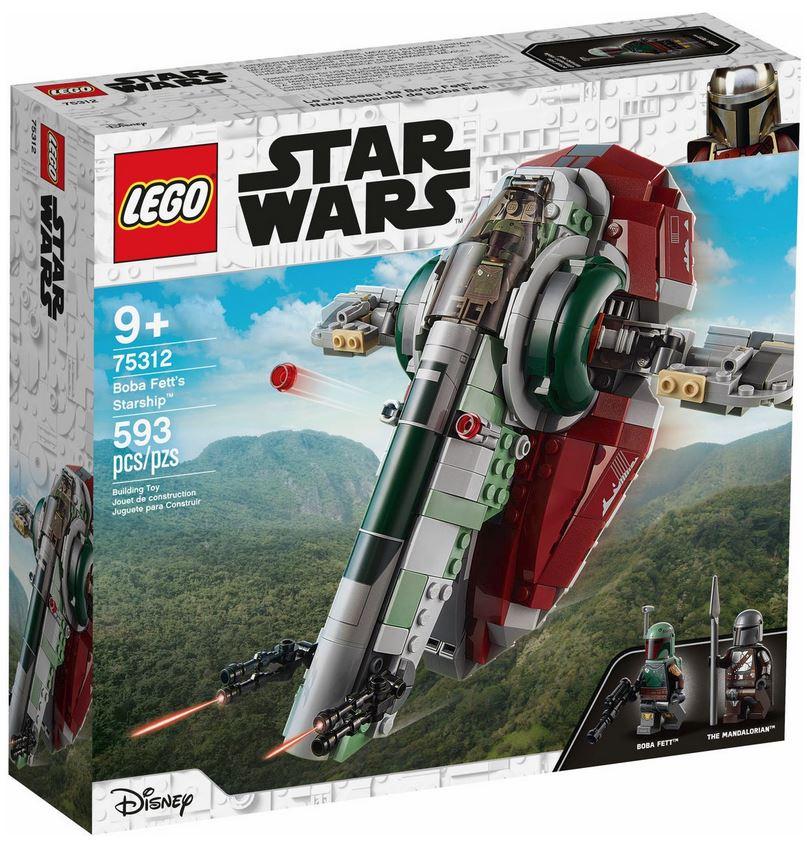 LEGO STAR WARS ASTRONAVE DI BOBA FETT™ 75312