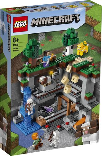 LEGO MINECRAFT LA PRIMA AVVENTURA 21169
