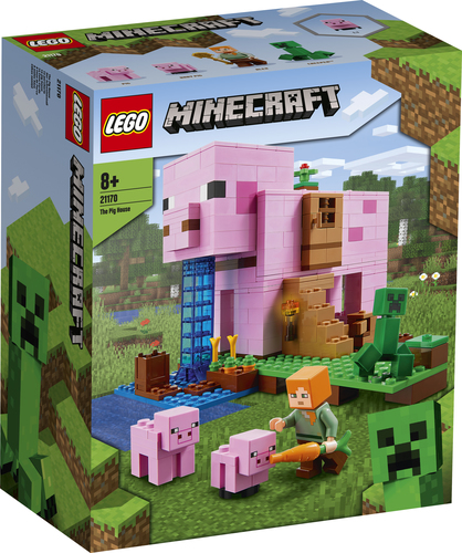 LEGO MINECRAFT LA PIG HOUSE 21170
