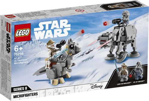LEGO STAR WARS MICROFIGHTER AT-AT™ VS TAUNTAUN™ 75298