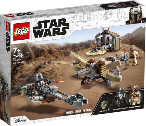 LEGO STAR WARS ALLARME SU TATOOINE 75299