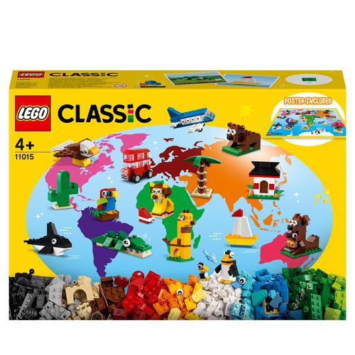 LEGO CLASSIC GIRO DEL MONDO 11015