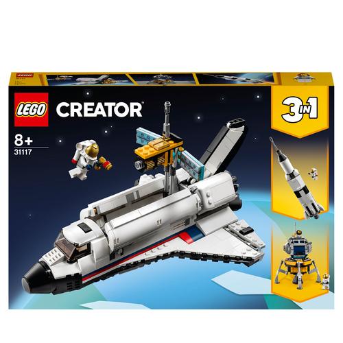 LEGO CREATOR AVVENTURA DELLO SPACE SHUTTLE 31117