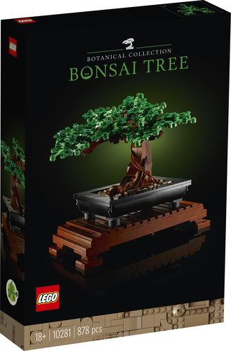 LEGO CREATOR EXPERT ALBERO BONSAI 10281