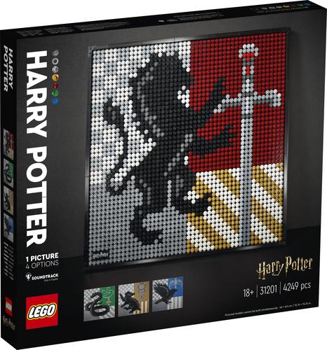 LEGO ART HARRY POTTER™ HOGWARTS™ CRESTS 31201