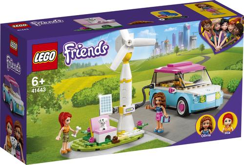 LEGO FRIENDS L'AUTO ELETTRICA DI OLIVIA 41443