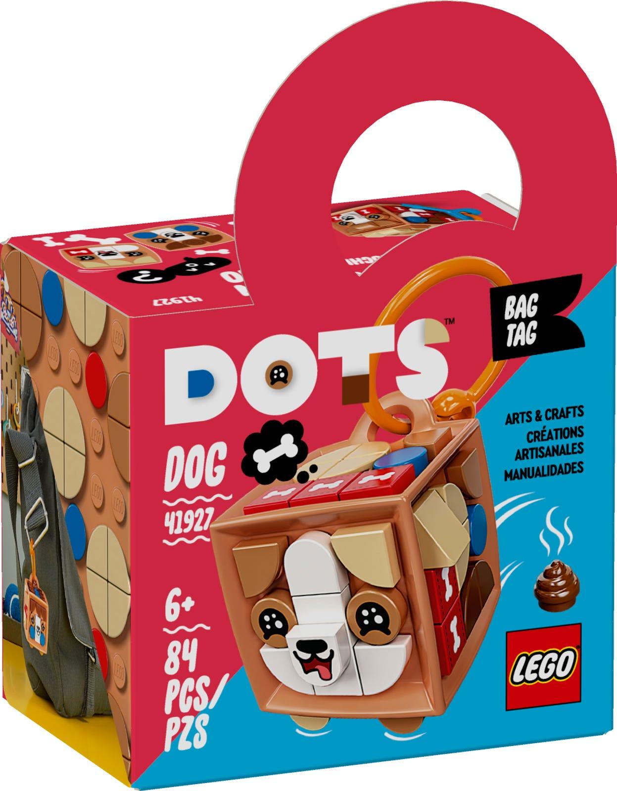LEGO DOTS BAG TAG - CAGNOLINO 41927
