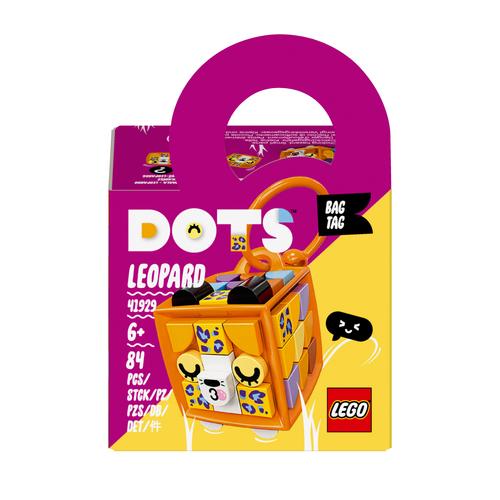 LEGO DOTS BAG TAG - LEOPARDO 41929