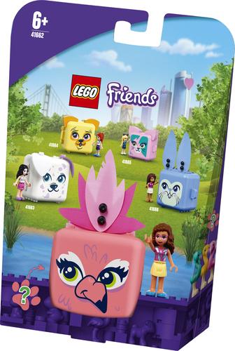LEGO FRIENDS IL CUBO DEL FENICOTTERO DI OLIVIA 41662