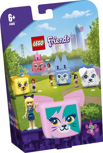LEGO FRIENDS IL CUBO DEL GATTO DI STEPHANIE 41665
