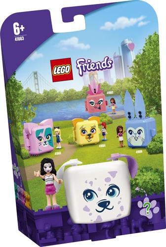 LEGO FRIENDS IL CUBO DEL DALMATA DI EMMA 41663