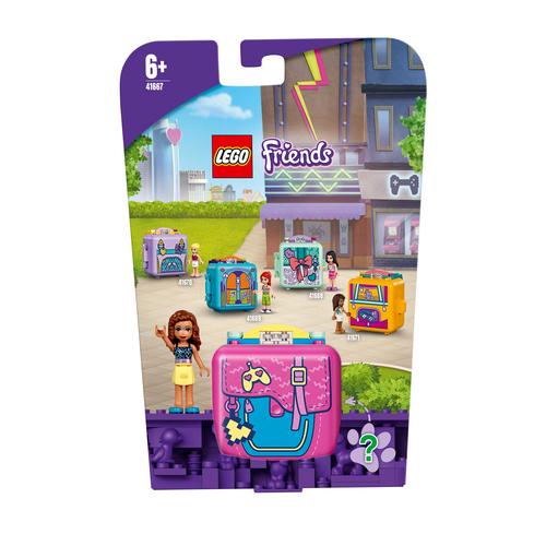 LEGO FRIENDS IL CUBO DEI VIDEOGIOCHI DI OLIVIA 41667