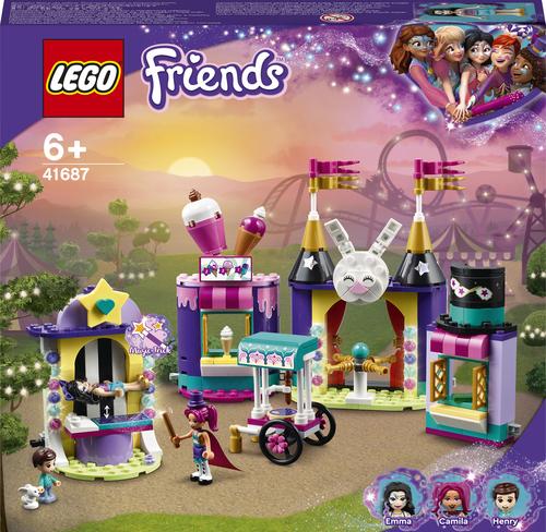 LEGO FRIENDS BANCARELLE DEL LUNA PARK MAGICO 41687