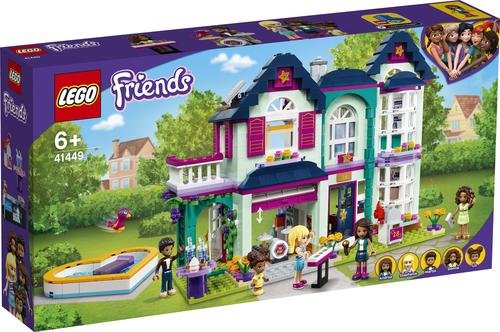 LEGO FRIENDS LA VILLETTA FAMILIARE DI ANDREA 41449