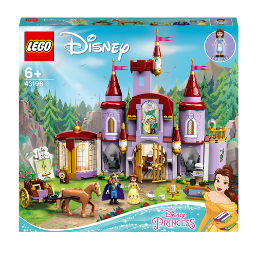 LEGO DISNEY PRINCESS IL CASTELLO DI BELLE E DELLA BESTIA 43196