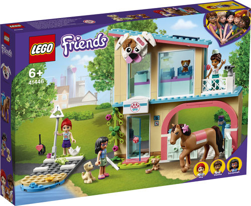 LEGO FRIENDS LA CLINICA VETERINARIA DI HEARTLAKE CITY 41446
