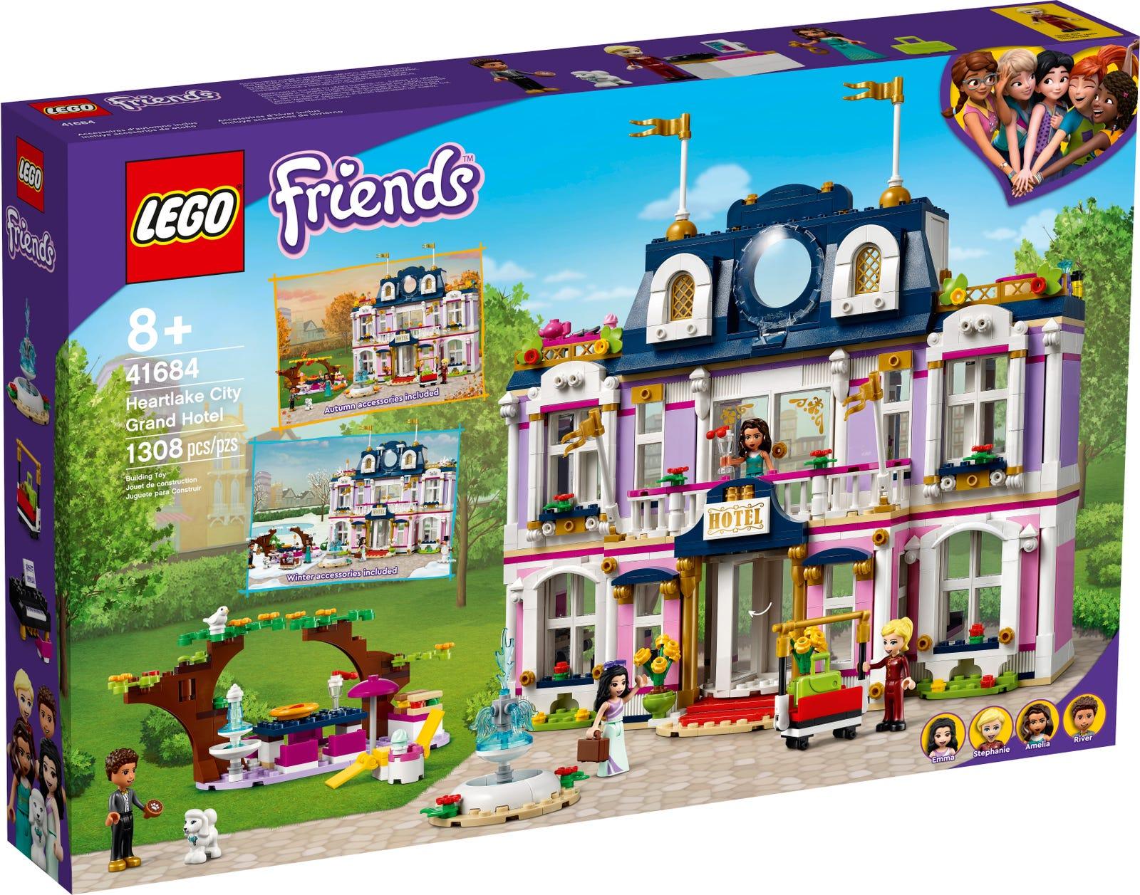 LEGO FRIENDS GRAND HOTEL DI HEARTLAKE CITY 41684