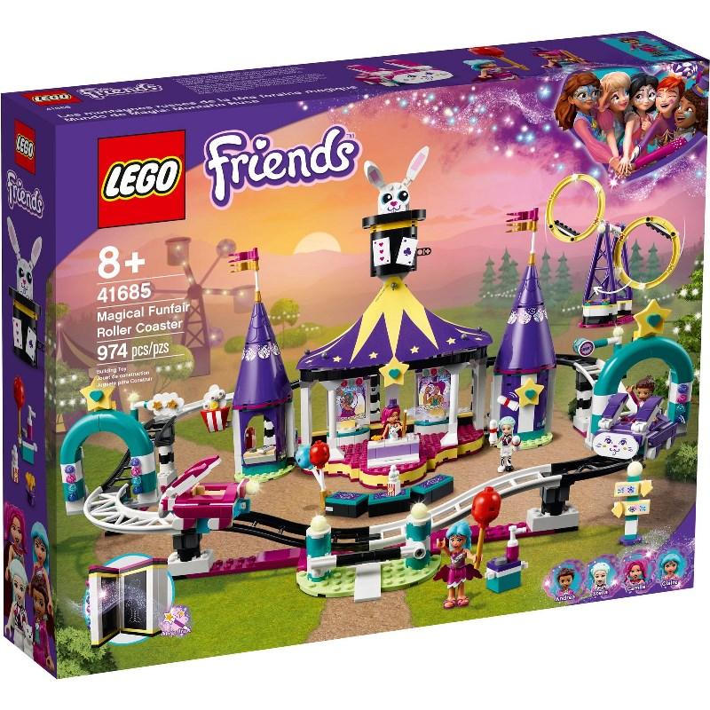 LEGO FRIENDS MONTAGNE RUSSE DEL LUNA PARK MAGICO 41685