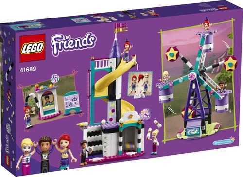 LEGO FRIENDS LA RUOTA PANORAMICA E LO SCIVOLO MAGICI 41689