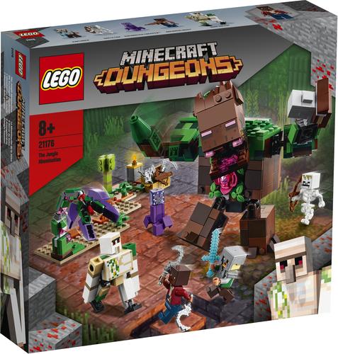 LEGO MINECRAFT L'ABOMINIO DELLA GIUNGLA 21176